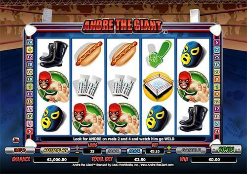 Andre The Giant free slot