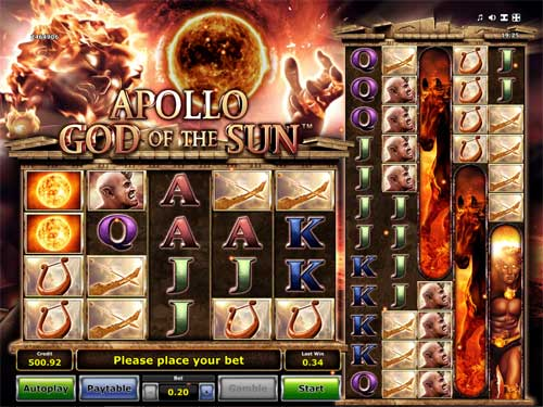 Apollo God of the Sun videoslot