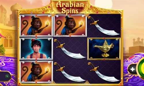 Arabian Spins videoslot