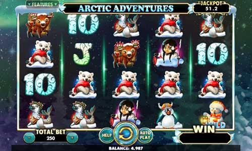 Arctic Adventures videoslot
