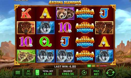 Arizona Diamonds Quattro slot