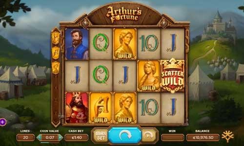 Arthurs Fortune videoslot