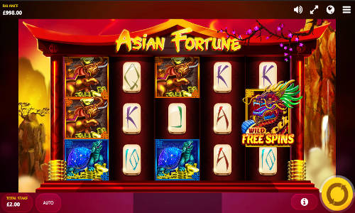 Asian Fortune videoslot