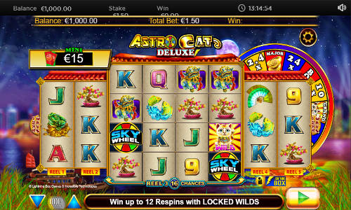Astro Cat Deluxe slot