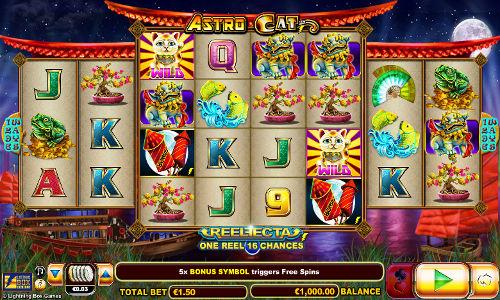 Astro Cat free slot
