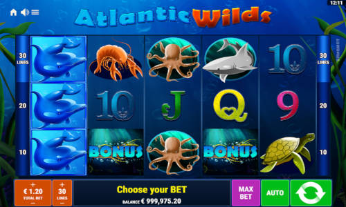 Atlantic Wilds videoslot