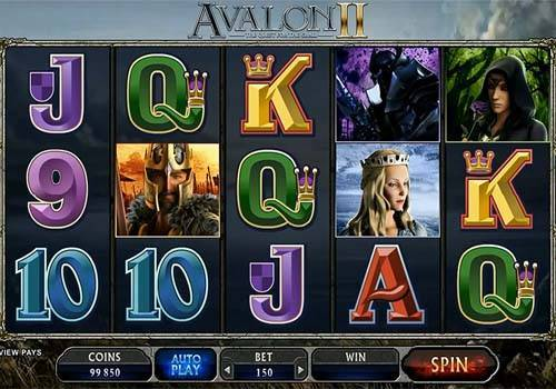 Avalon 2 videoslot