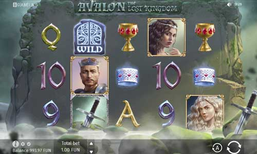 Avalon The Lost Kingdom videoslot