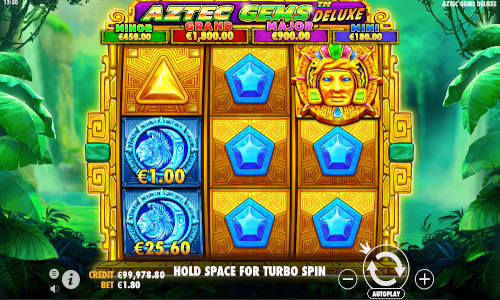 Aztec Gems Deluxe videoslot