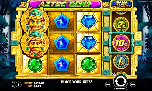 Aztec Gems free slot