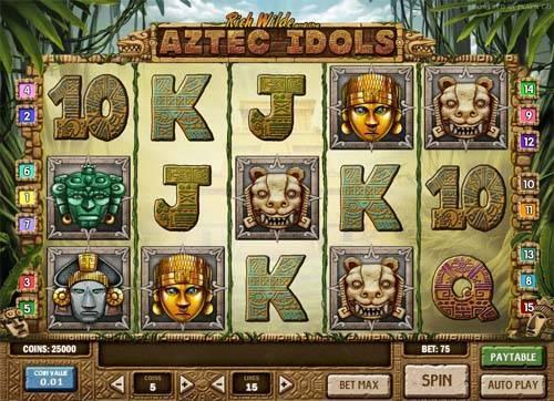 Aztec Idols videoslot