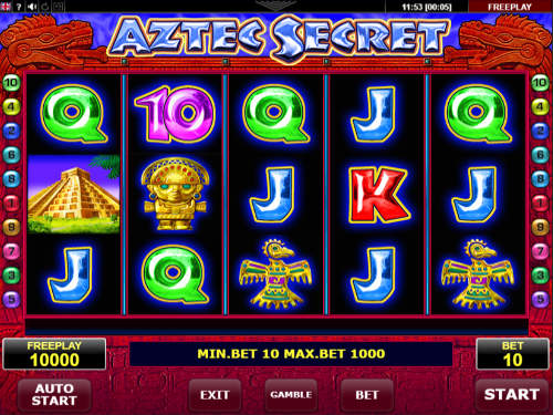 Aztec Secret free slot