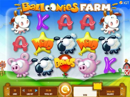 Balloonies Farm free slot
