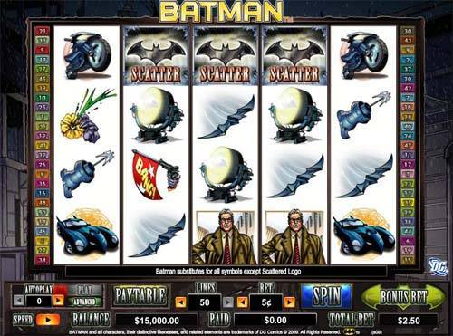Batman free slot