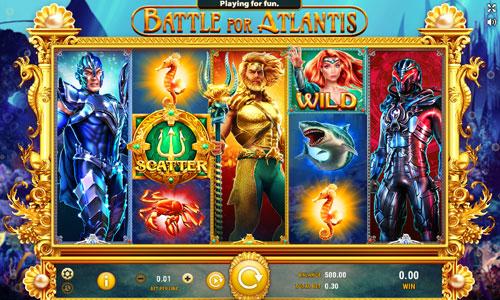 Battle for Atlantis slot