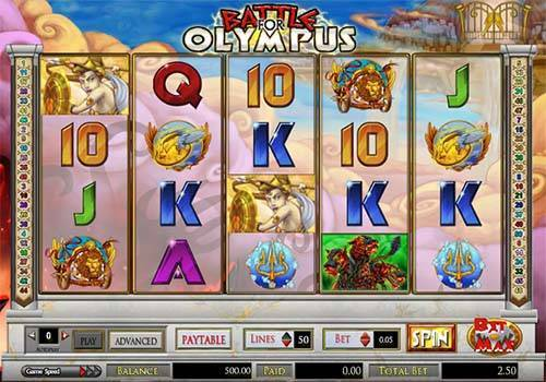 Battle For Olympus free slot