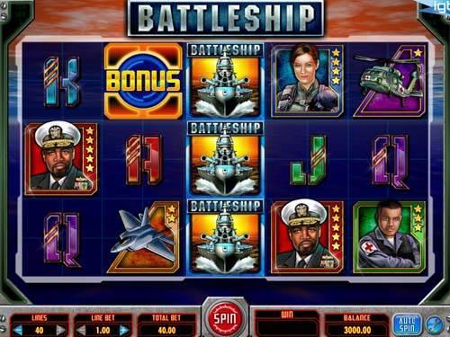Battleship videoslot