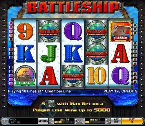 Battleship slot