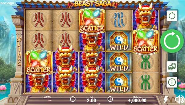 Beast Saga videoslot