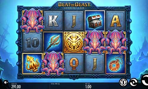 Beat the Beast Krakens Lair slot