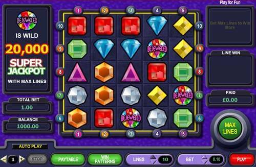Bejeweled free slot