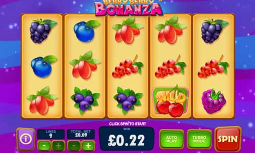 Berry Berry Bonanza videoslot