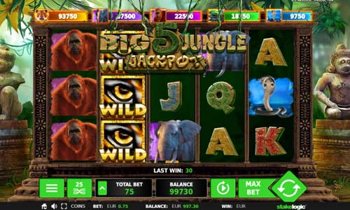 Big 5 Jungle Jackpot videoslot
