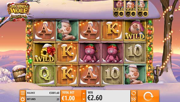 Big Bad Wolf Christmas slot