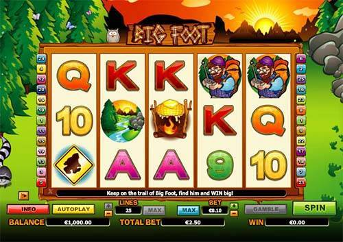 Big Foot free slot