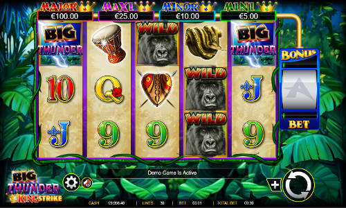 Big Thunder free slot