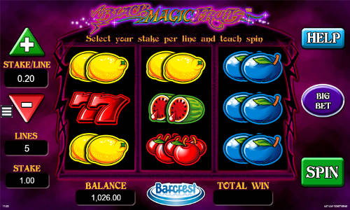 Black Magic Fruits slot