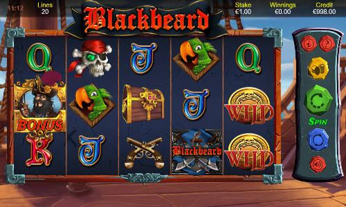 Blackbeard videoslot