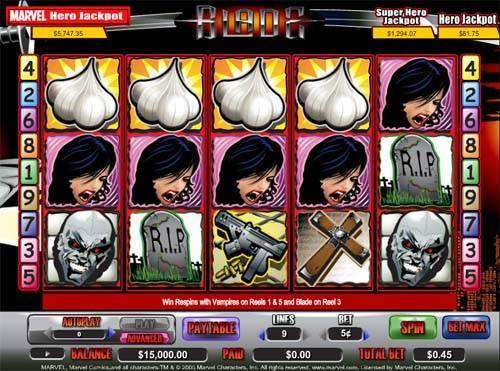 Blade free slot