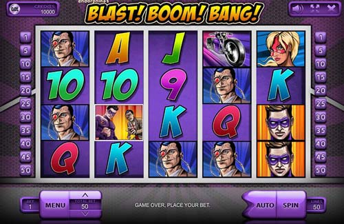 Blast Boom Bang videoslot
