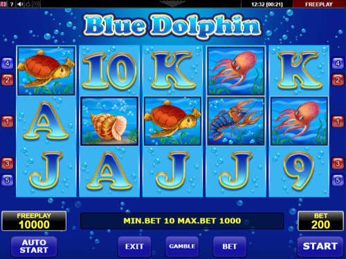 Blue Dolphin videoslot