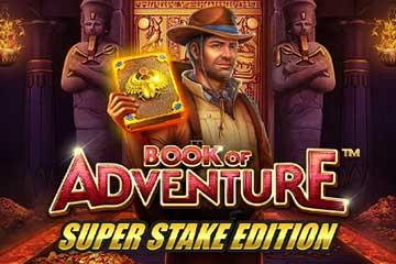 Spela Book of Adventure Super Stake Edition slot