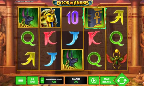 Book of Anubis videoslot