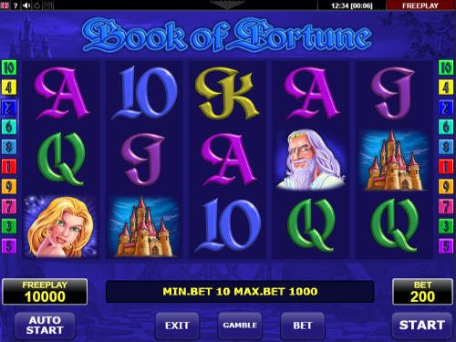 Book of Fortune videoslot