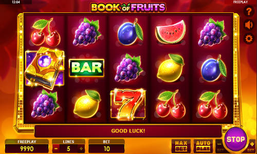 Book of Fruits videoslot