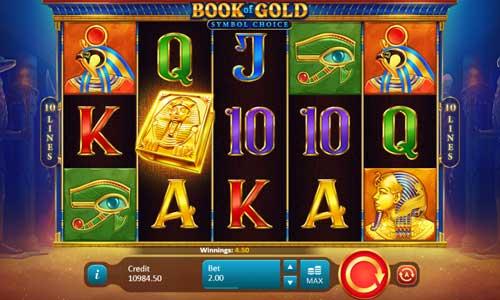 Book of Gold Symbol Choice slot