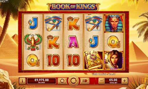 Book of Kings videoslot