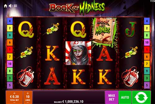 Book of Madness videoslot