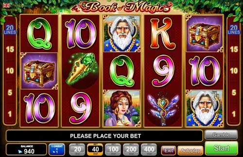 online casino willkommensbonus book of magic
