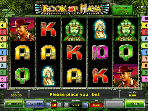 Book of Maya free slot
