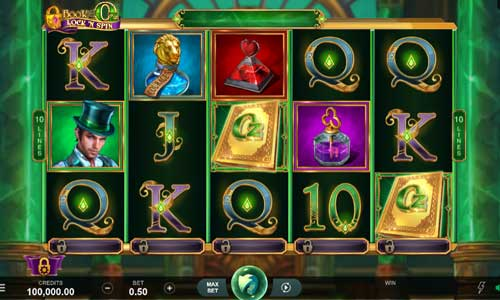 Book of Oz Lock N Spin videoslot