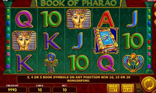 Book of Pharao slot
