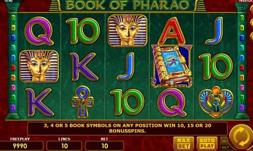 Book of Pharao videoslot