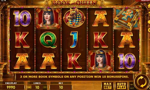 Book of Queen slot