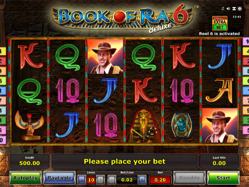 Book of Ra Deluxe 6 free slot