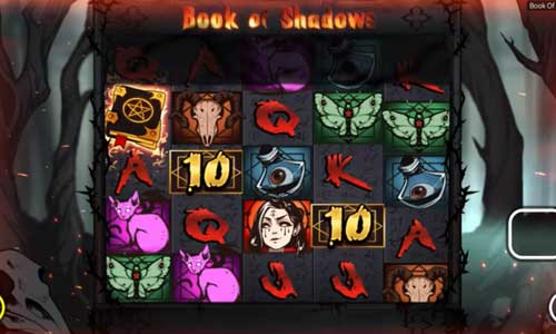 Book of Shadows videoslot